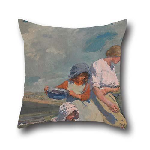 oil-painting-elizabeth-forbes-blackberry-gathering-throw-cushion-covers-best-for-relativesliving-roo