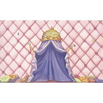 Princess Canopy Wall Mural  sc 1 st  Amazon.com & Amazon.com: Princess Canopy Wall Mural: Home u0026 Kitchen