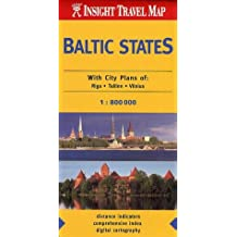 Baltic States Insight Travel Map