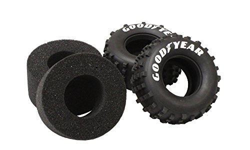 Kyosho Rear Tire with Inner Foam Scorpion 2014 (2 Piece), Medium