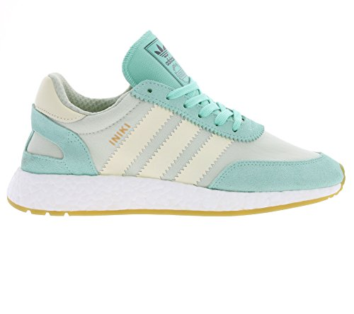 adidas Iniki Runner W, Zapatillas para Mujer easy green-cream white-linen green