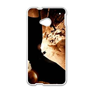 Happy Batman Begins Cell Phone Case for HTC One M7