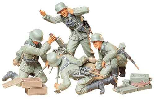 1/35 German Inf Mortar Team