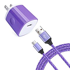 Please note:The micro usb cable support charges your devices at fastest possible speed with Qualcomm Quick Charge 2.0,3.0.But it also requires your wall charger adapter and smartphone support Quick Charge too.  Specifications Cable Length : 6...