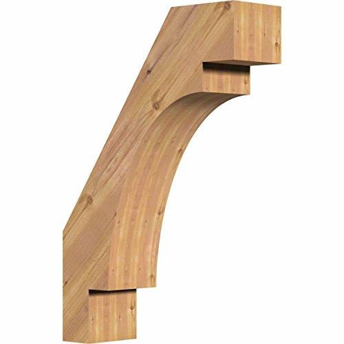 Ekena Millwork BRC06X18X26MRC00SWR Merced Smooth Brace, 5 1/2'' Width x 18'' Depth x 26'' Height, Western Red Cedar by Ekena Millwork