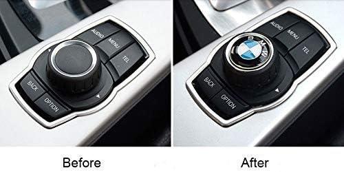 OSIRCAT 29mm BMW Multimedia Control Badge Alloy Sticker for BMW M 1 3 5 x1 x3 x5 x6 GT