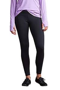 ExOfficio Women's BugsAway Impervia Legging, Black, Medium