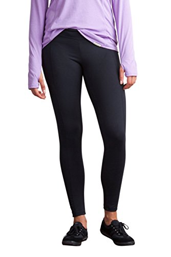 ExOfficio Women's BugsAway Impervia Legging, Black, Large by ExOfficio