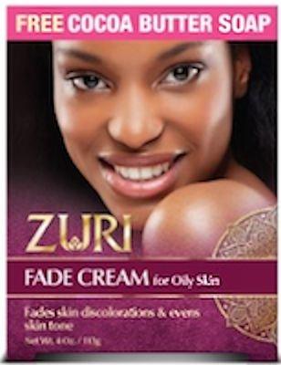 Zuri Fade Cream for Oily Skin 4 ounce with Cocoa Butter Soap]()
