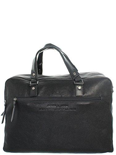 Arthur & Aston–Handtuch Arthur und Aston Leder Ref ast43695Hat Schwarz 41* 32* 13