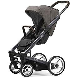 Mutsy Igo Farmer Edition Stroller, Dark Grey Chassis