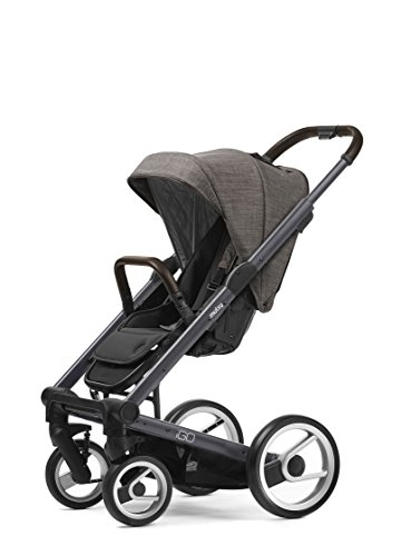 Mutsy Igo Farmer Edition Stroller, Dark Grey Chassis