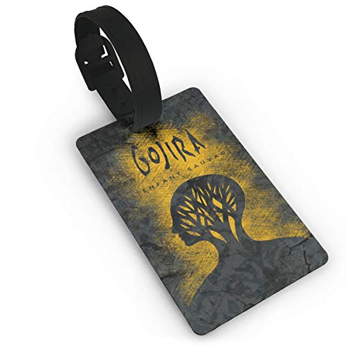 TERESAWATKINS Gojira L'Enfant Sauvage Luggage Tags Suitcase Labels Bag Travel Accessories
