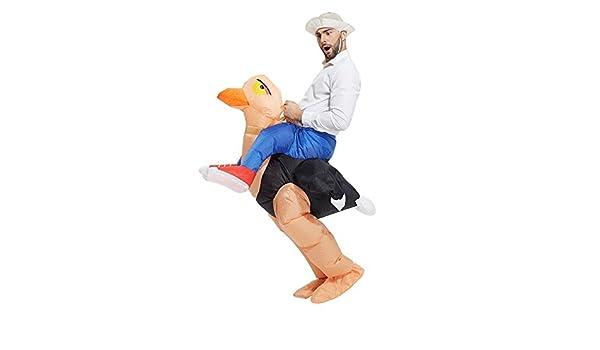 Amazon.com: Inflatable Ostrich Halloween Fancy Dress Blow Up ...