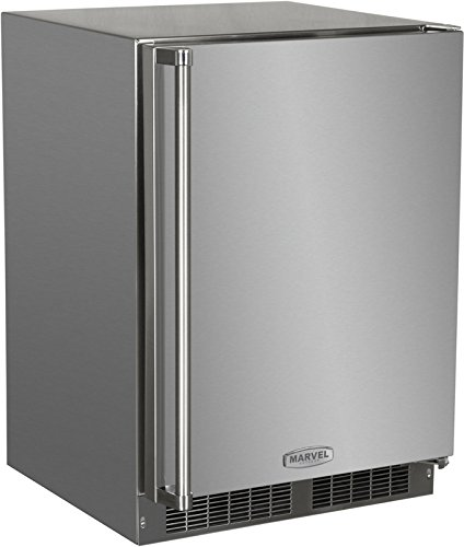 AGA Marvel MO24RAS1RS Outdoor Refrigerator with Lock, Right Hinge Stainless Steel Door, 24-Inch by AGA Marvel