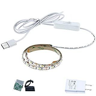 Bonlux LED Sewing Machine Light Working Gooseneck Lamp 20 LEDs, with Magnetic Mounting Base for Home or Sewing Machine (Dimmable 20LEDs)