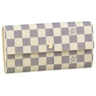 Louis Vuitton Damier Azur Sarah Cartera n61735 incluye ...