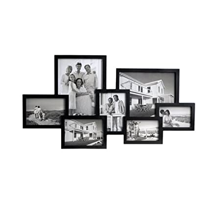 Amazon.com: Lifetime Brands Melannco 7-Opening Cluster Collage Frame ...