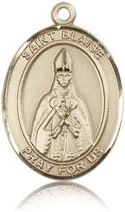 14ktゴールド聖Blaise Medal