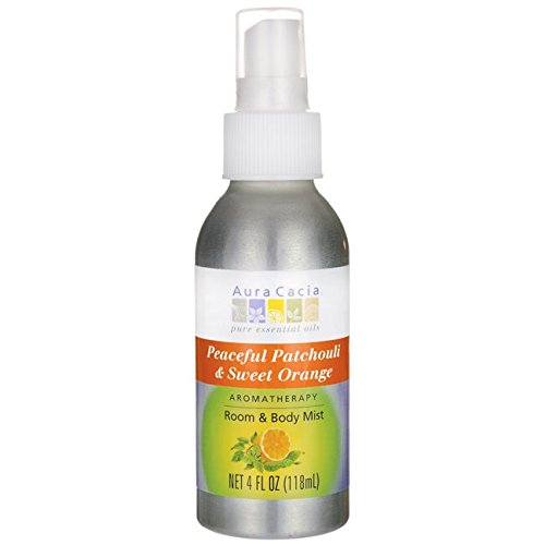 Aura Cacia Room and Body Mist, Peaceful Patchouli and Sweet