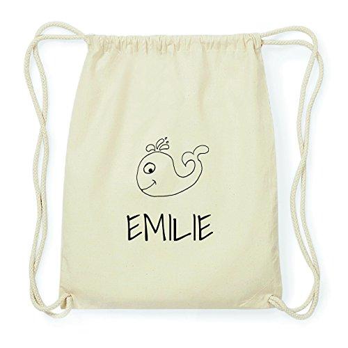 JOllipets EMILIE Hipster Turnbeutel Tasche Rucksack aus Baumwolle Design: Wal NZDDve
