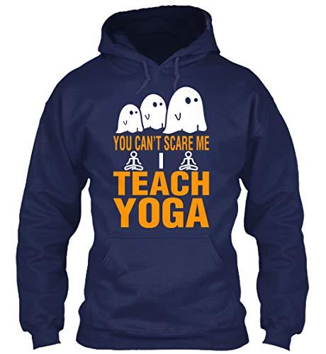 teespring You Cant Scare me i. 5XL - Navy Sweatshirt - Gildan 8oz Heavy Blend Hoodie for Men & Women -