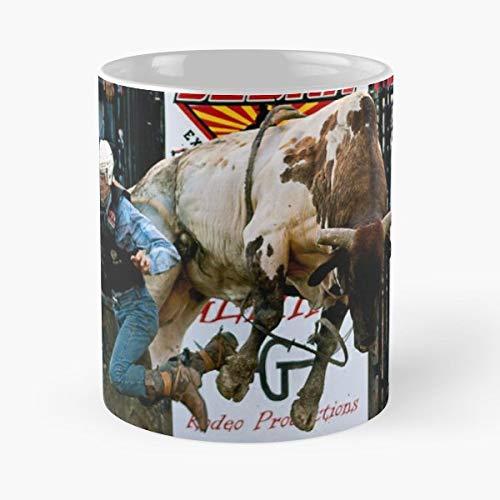 Bull Rid Tea, Coffee Mugs Funny Girf For Holiday. ()