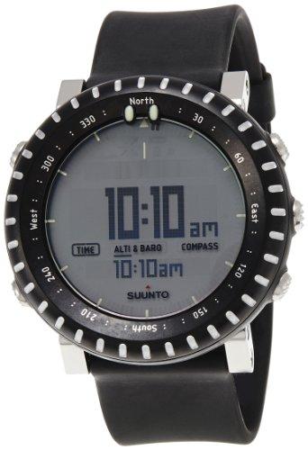 SUUNTO Core Wrist-Top Computer Watch (Light Black)
