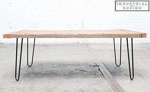 Industrial By Design - 12'' Hairpin Legs (Satin Black) - Industrial Strength - Mid Century Modern - Set of 4, Great for Table Legs by Industrial By Design (Image #4)