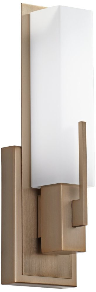 Possini Euro Midtown 15''H Burnished Brass LED Wall Sconce