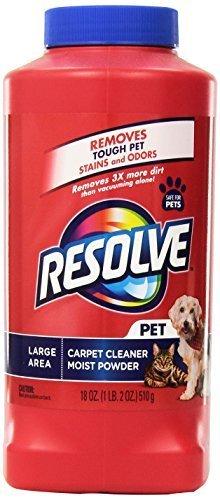 Resolve Carpet Pet Deep Clean Powder, 18 Ounce by RESOLVE