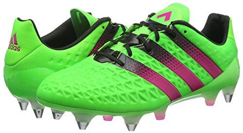 Botas 16 Adidas fútbol Rosa Negro Ace Rosimp para 1 Verde Versol Hombre SG Negbas de 5x5qIBT
