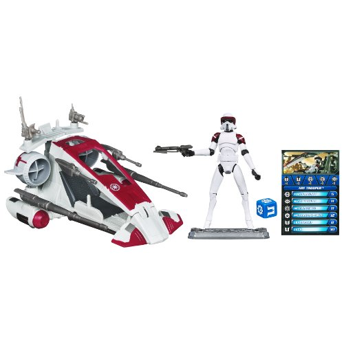 Star Wars Clone Scout Walker (Star Wars Republic Scout Speeder: with ARF TROOPER)