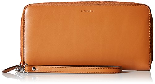 Lodis Lined Wallet (Lodis Audrey Vera Wristlet Wallet, Toffee, One Size)
