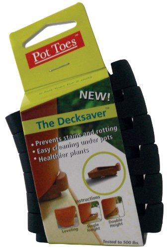 Plantstand PT06-BLCS 6-Pack Clip Strip Black Pot toes - Toes Pot