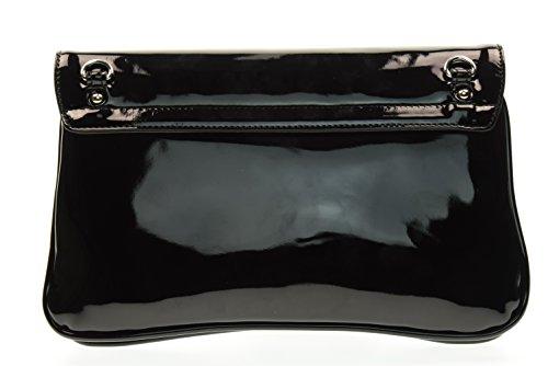 NERO GIARDINI donna pochette con tracolla in metallo P743405D/100 UNICA Nero