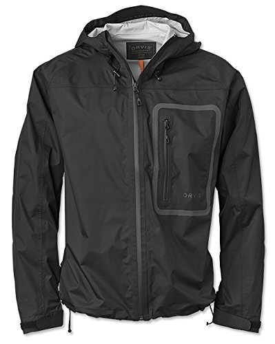 Packable Wading Jacket - Orvis Encounter Jacket - Men's Black, L