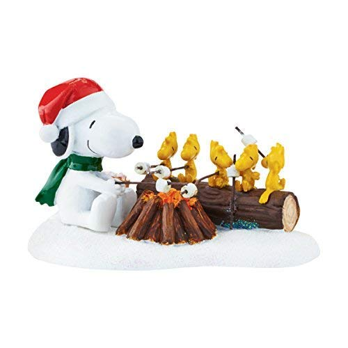 Department 56 Peanuts Village Campfire Buddies Accessory Figurine