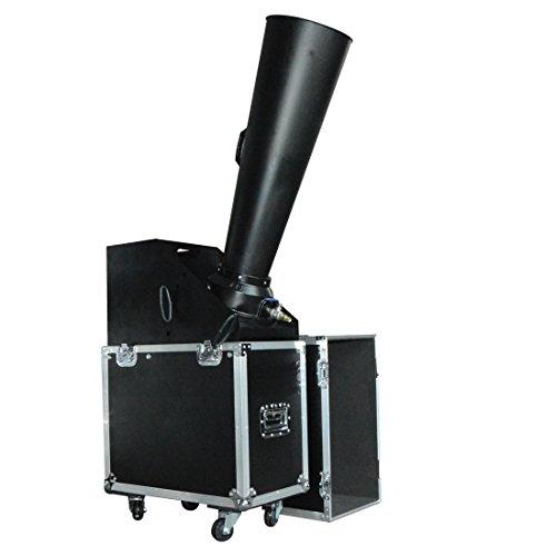 MOKA SFX Cast Aluminum Co2 Paper Confetti Machine Manual Control for Celebration Wedding Concert Party ()