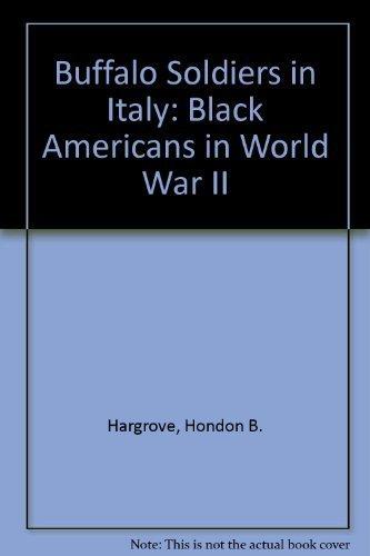 Buffalo Soldiers in Italy: Black Americans in World War II by Hondon B. Hargrove - Shopping Malls Buffalo