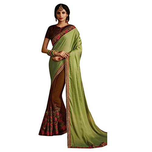 Saree 7283 E Camicetta Elegante Ricamato Donne Ethnic Emporium Partito Indiano Delle Collection Usura Designer Etnico wqIx4aT