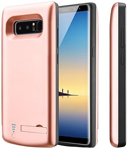 Samsung Galaxy Note 9 Cover Batteria Custodia Pile al Ricaricabili Power Bank 5000mAh Smart Ultra Sottile Slim Cover Batterie Ricaricabile Custodia Protettiva con Batteria Integrata per Galaxy Note 9