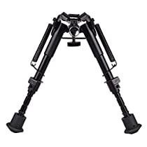 RioRand 6 to 9 Hunting Rifle Bipod Adjustable Spring Return Sniper Sling Swivel Mount