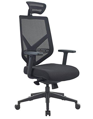 Sigma Office - Par de Silla ergonomica con Soporte de Cintura Ejecutivo