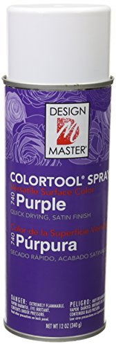 Design Master DM-CT-740 Colortool Floral Spray Paint, Purple by Design Master