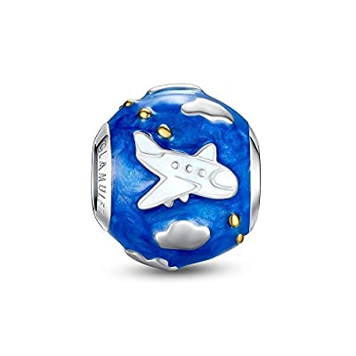 Glamulet Travel Series Charms Sterling Silver Holiday Beads for Women from Glamulet