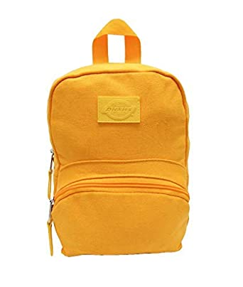 ce78e70e4 Amazon.com | Dickies Cotton Canvas Mini Backpack (Mustard, One Size ...
