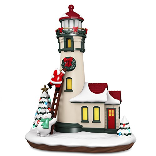 Hallmark Keepsake Christmas Ornament 2018 Year Dated, Luminous Lighthouse with Music and Light, Tabletop