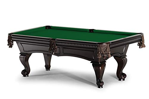 Spencer Marston 9 ft Tuscany Pool Table - Includes Simonis Green Simonis 860 Cloth and White Glove Installation