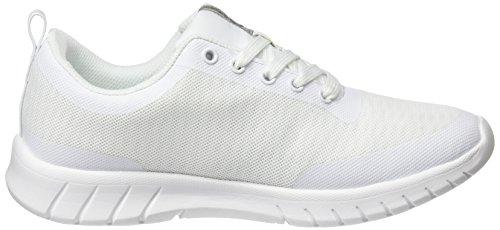 Unisex Zapatillas Adulto de White Alma Blanco Deporte Suecos qIOCn